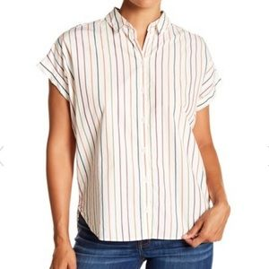 Madewell Sadie Striped Central Shirt
